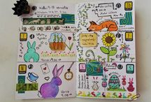 Traveller`s notebook, kalenterivihko