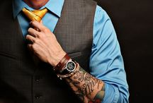 Love a Man in suit with tattoos. / Tight, tough, neat and cool. Ink❤️
