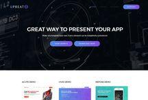 Upbeat - Responsive Multi-Purpose Landing Page WordPress Theme