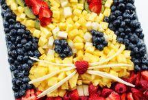 plateau fruit deco