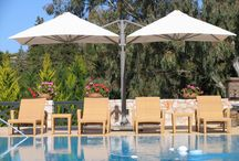 PROSTOR Residential Parasols / Embrace the sun with our smart solutions for your patio. #prostor #shade #parasol #residential #garden #outdoordesign