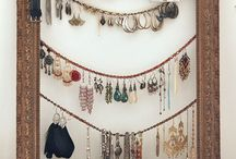 Jewelry Organizers / Do it yourself jewelry organizers. Build it and fill it!