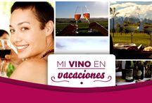 Mi vino en vacaciones! / Queremos demostrar como podemos disfrutar del vino en vacaciones!