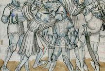 1390-1420 / Kleidung und Rüstung