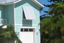 Beach house colours