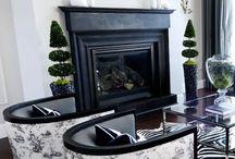 Kandallók / mantels and fireplaces