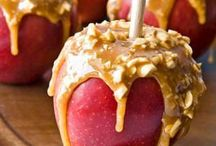 Healthy Halloween Recipes / You don't have to avoid all sweet treats while trying to stay healthy this Halloween. Find better-for-you recipes for homemade candy, caramel apples, spooky party snacks and even quick dinners to have before trick-or-treating.
