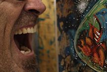 Mono Cieza at Fousion Gallery / Works of Mono Cieza presented by Fousion Gallery Barcelona in many occasions we show his great works at Groupshows, Art Events and Art Fairs.