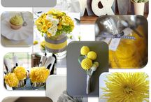 Wedding : in grey & yellow / by Valentine Boillat