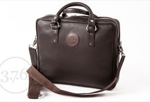 "3.7.6. Laptop Bag SQ13 DBR / Dark brown natural leather. Perfect for laptops up to 13"". Fits also cable, documents and more... www.376west.com"