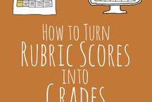 Assessments & rubrics