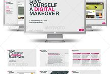 Presentation Inspiration / Not sure how to customize your presentation? Check this board for inspiration.  / by Slideshop