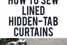 DIY Curtains / by Susanne Owens