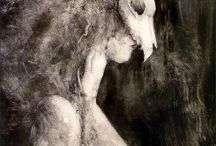 Wild woman would / inspiration for the wildness inside….the wolf in me…..