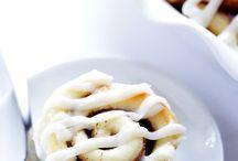Cinnamon rolls / Bagning