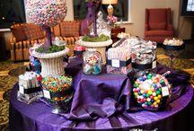 Tables bonbons buffet