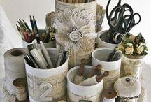 Reciclar y decoración