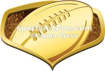 Football Illustrations & Designs / American football Illustrations, Clipart and Designs for athletes, coaches and fans.