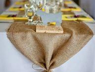 Mesa boda campestre