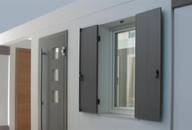 Thermal Break Aluminium Shutters / TB Aluminum shutters are an innovative products to protect against cold rain sun and noise. They allow great energy savings and at the same time they smarten building walls.