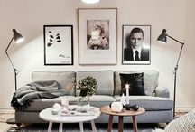 Deco inspiration / Kitchens and living rooms and stuff