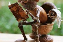 figurine din ghinda