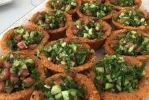 salatalar mezeler