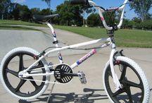 BMX, Bikes und Skateboards
