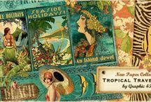 Sneak Peek - Tropical Travelogue