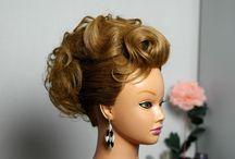 (MEDIUM HAIR) Updos / by Amber Bradley-carter