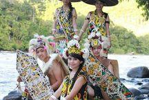 Dayak Kenyah Tribe