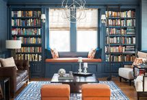 READING Spaces / A quiet retreat....a place to get away from it all....filled with books and a comfortable seat.