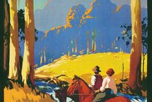 Old Travel Posters - Australia & New Zealand