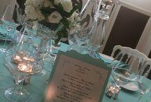 Menu / Tableau , menu and wedding invitation handmade