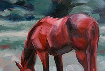 cavalli a olio