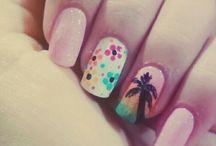 Mis diseños de uñas.