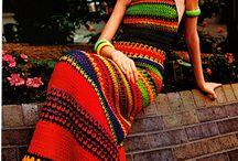Crochet dress Vintage