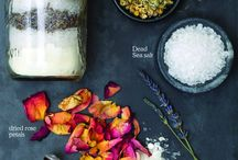 Goats milk bath salts