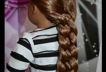 Girl Doll Hair Dues