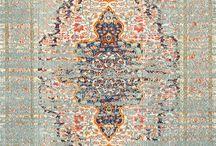 vintage rugs living room