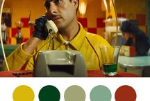 Colour Pallete / Wes Anderson