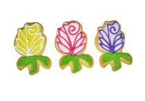 Garden Flower Cookies