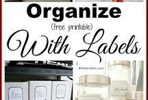 Organising products and labels