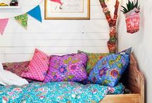 Colorful kids room