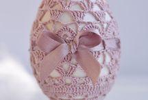 ovos decorados croche