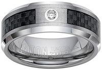 """Tungsten Carbide Wedding Bands / Mens tungsten carbide wedding bands are also referred to as the """"Permanently Polished Wedding Bands"""".   Guys, imagine wearing a wedding band that remains perpetually polished and looks everlastingly new.  Discover the incredible look and miraculous durability of mens tungsten carbide wedding bands."""