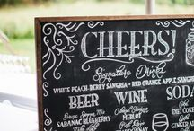 Inspiration Board {Chalkboard} / All things chalkboard for your special day