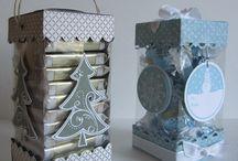 Boîtes et enveloppes cadeaux sacs / Emballage / by Francine Lavoie