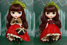 Blythe and other dolls