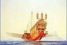 Boat in art